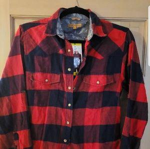 NWT womens flannel shirt